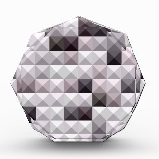 Davy Gray Abstract Low Polygon Background Acrylic Award