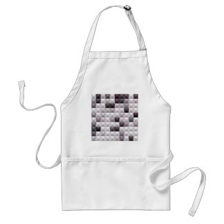 Davy Gray Abstract Low Polygon Background Adult Apron
