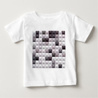 Davy Gray Abstract Low Polygon Background Baby T-Shirt