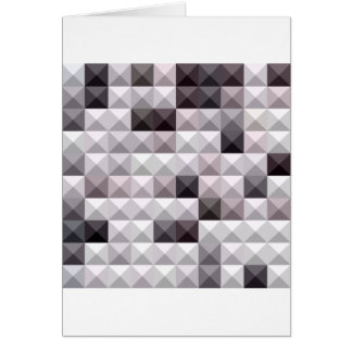 Davy Gray Abstract Low Polygon Background Card