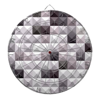 Davy Gray Abstract Low Polygon Background Dartboard With Darts