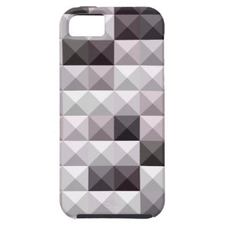 Davy Gray Abstract Low Polygon Background iPhone SE/5/5s Case