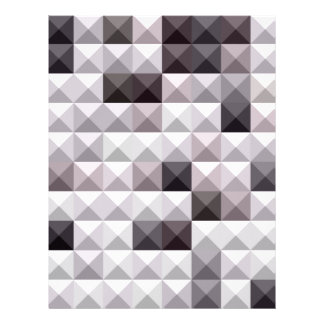 Davy Gray Abstract Low Polygon Background Letterhead