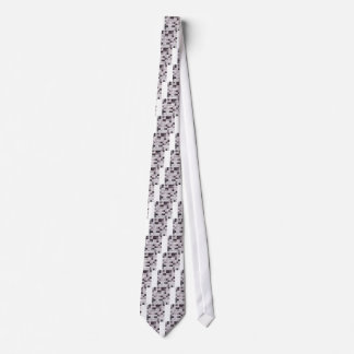 Davy Gray Abstract Low Polygon Background Neck Tie