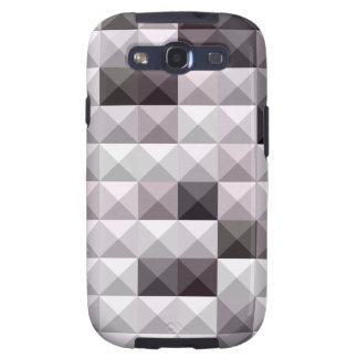 Davy Gray Abstract Low Polygon Background Samsung Galaxy S3 Case