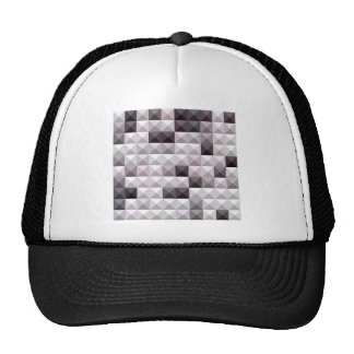 Davy Gray Abstract Low Polygon Background Trucker Hat