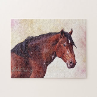 Davy Greasewood Wild Stallion Puzzle SAF