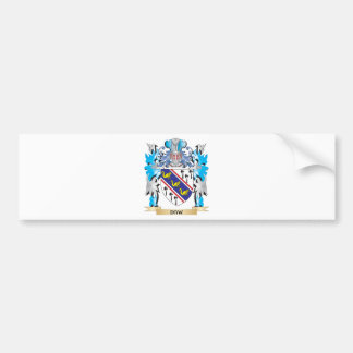 Daw Coat of Arms - Family Crest Bumper Stickers