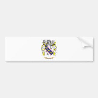 Dawe Coat of Arms Bumper Sticker