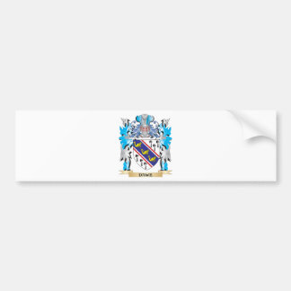 Dawe Coat of Arms - Family Crest Bumper Stickers