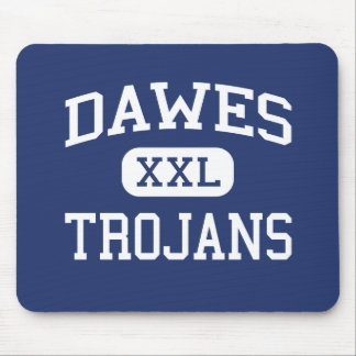 Dawes - Trojans - Elementary - Lincoln Nebraska Mouse Pad