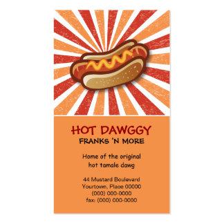 Dawg caliente tarjetas personales