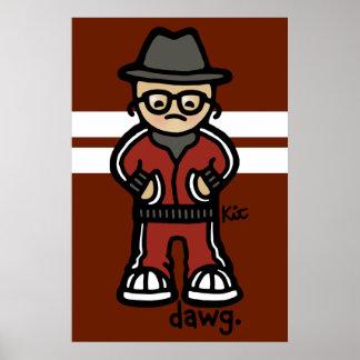 dawg design paper. poster