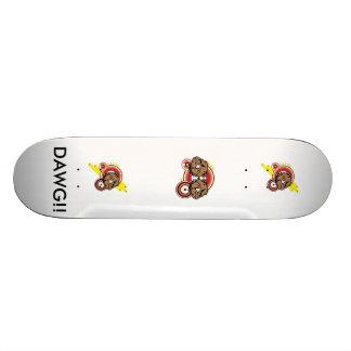 Dawg! Double Bull Dog Mean Sketeboard Skateboard