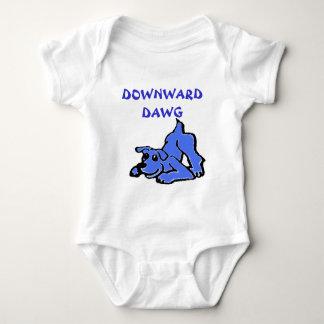 Dawg hacia abajo playera