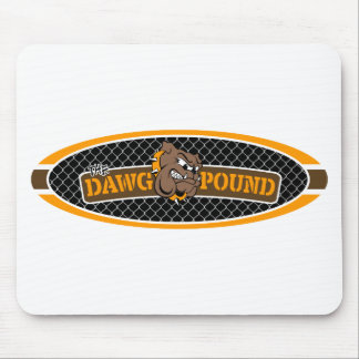 Dawg Pound Chain Link Mouse Pad
