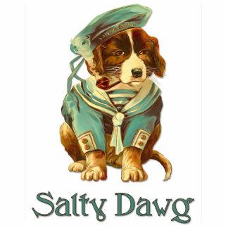 Dawg salado llavero fotográfico