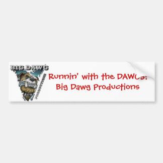Dawgs Bumper Sticker Car Bumper Sticker
