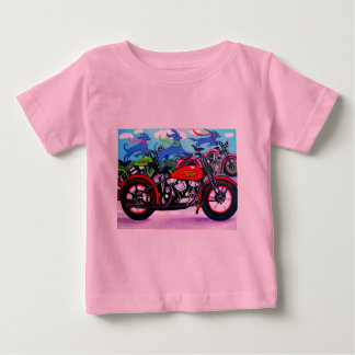 Dawgs on Hawgs - Dogs on Motorcycles T Shirt