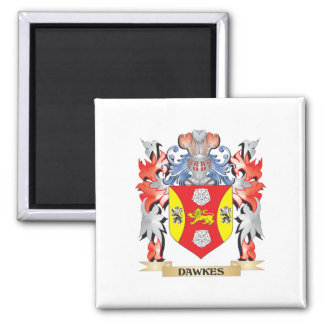 Dawkes Coat of Arms - Family Crest Magnet