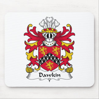 Dawkin Family Crest Mouse Pad