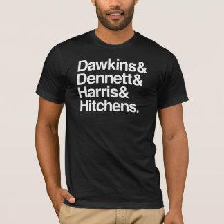 Dawkins & Dennett & Harris & Hitchens. T-Shirt