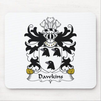 Dawkins Family Crest Mouse Pad