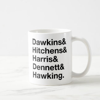 Dawkins&Hitchens&Harris&Dennett&Hawking - Science Mugs