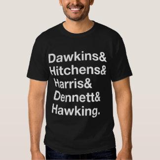 Dawkins&Hitchens&Harris&Dennett&Hawking - Science T-Shirt