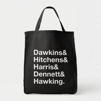 Dawkins&Hitchens&Harris&Dennett&Hawking - Science Tote Bag