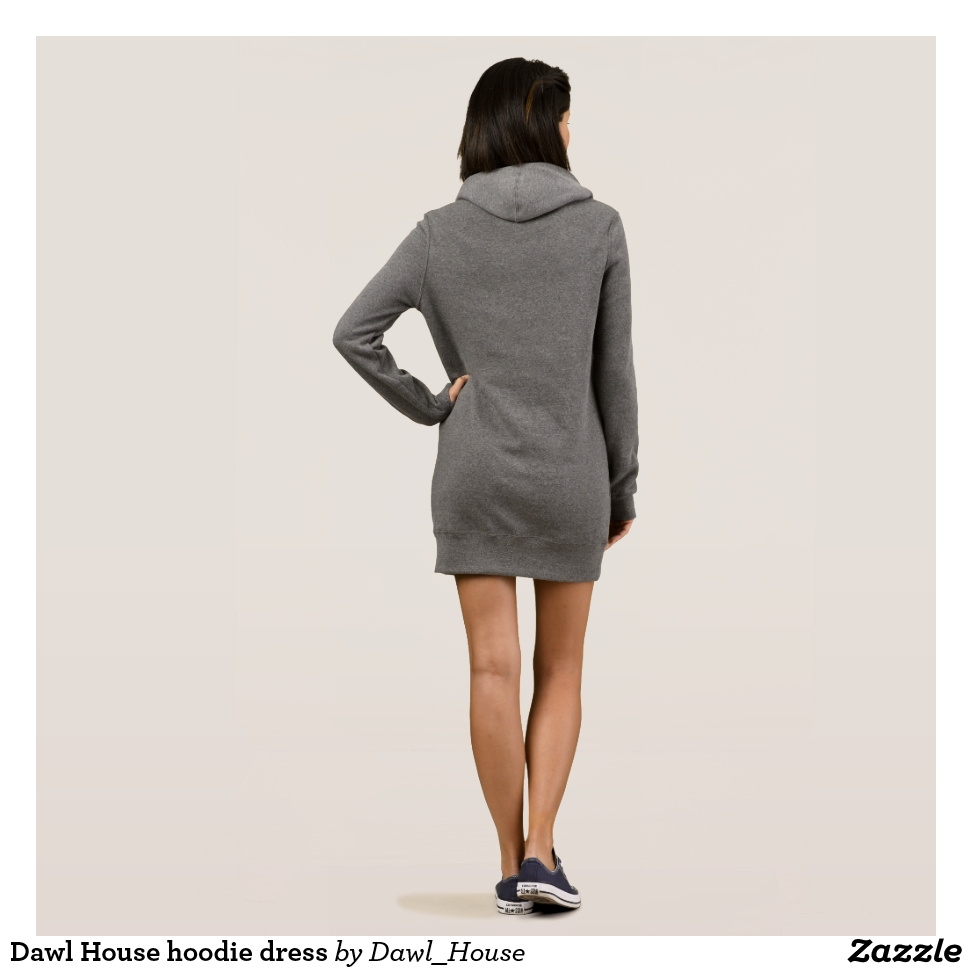 Dawl House hoodie dress - Curve-Hugging Women's Fashion