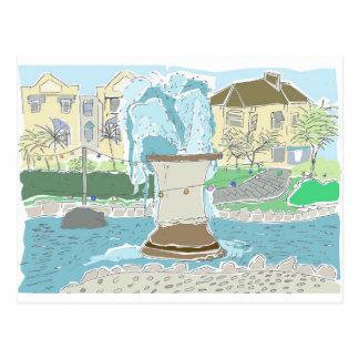 Dawlish Fountain Postcard
