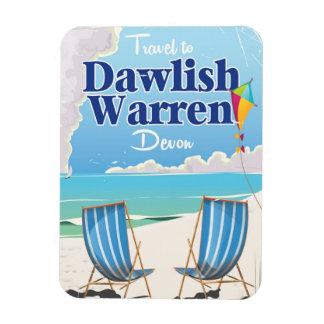 Dawlish Warren Devon vintage train poster Magnet