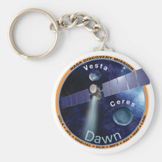DAWN - A NASA Discovery Mission Basic Round Button Keychain