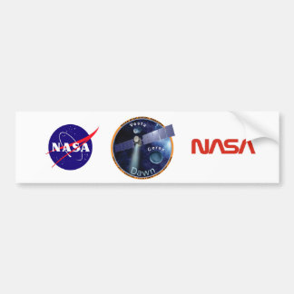 DAWN - A NASA Discovery Mission Bumper Sticker