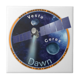 DAWN - A NASA Discovery Mission Ceramic Tile