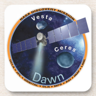 DAWN - A NASA Discovery Mission Drink Coasters