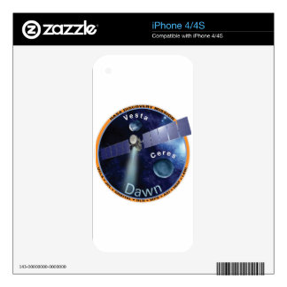 DAWN - A NASA Discovery Mission Decal For iPhone 4