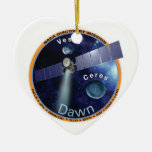 DAWN - A NASA Discovery Mission Christmas Ornaments