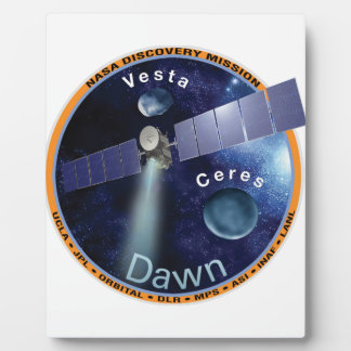 DAWN - A NASA Discovery Mission Plaque