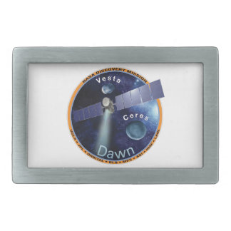 DAWN - A NASA Discovery Mission Rectangular Belt Buckle