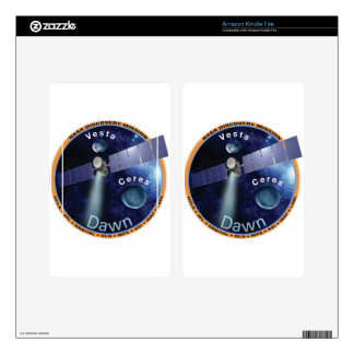 DAWN - A NASA Discovery Mission Kindle Fire Skins