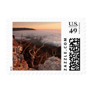 Dawn Ai-Petri Yaila nature reserve, Alupka Russia Stamp