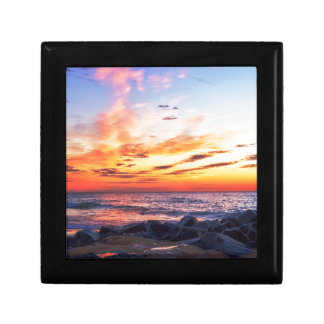 Dawn at 120th Street in Ocean City Maryland Jewelry Box