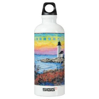 Dawn at Annisquam Aluminum Water Bottle