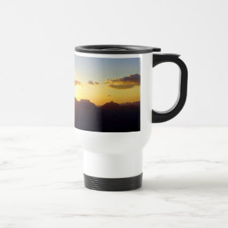 Dawn at Grand Canyon 15 Oz Stainless Steel Travel Mug
