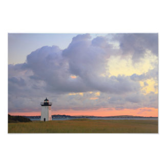 Dawn at Long Point Lighthouse, Provincetown MA Photo Print