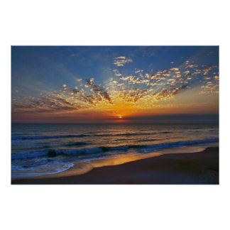 Dawn at Ponte Vedra Poster