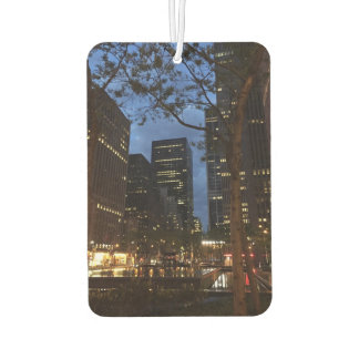 Dawn at Rockefeller Center New York City NYC Photo Air Freshener