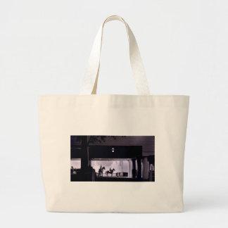 Dawn at Saratoga Springs, 1963 Large Tote Bag